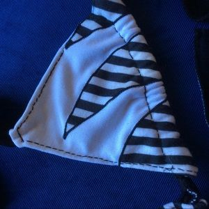 Erika Kelly Swim - Handmade Cotton 80's Lounge Bikini Top